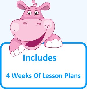 Includes 4 weeks of lesson plans
