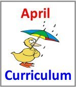 April Preschool ages 2.5 to 6 years