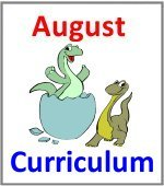 August Preschool ages 2.5 to 6 years