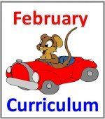 February Preschool ages 2.5 to 6 years