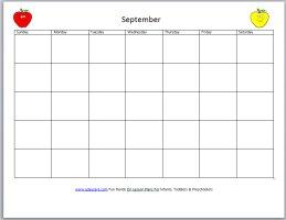 Free Circle Time Calendar
