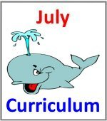 July Preschool ages 2.5 to 6 years