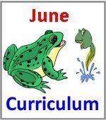 June Preschool ages 2.5 to 6 years