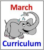 March Preschool ages 2.5 to 6 years