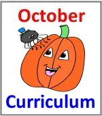 October Preschool ages 2.5 to 6 years