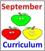 September Preschool ages 2.5 to 6 years