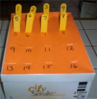 Shoe Box Numbers
