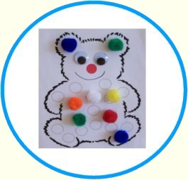 Circle Time Teddy Bear Color Match Up