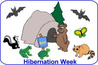 Toddler January Poster Week 2 Hibernation lesson plan