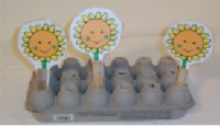 Young Toddler Flower Peg Board