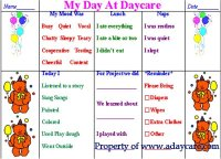 150+ Daycare Forms *** Childcare Forms, Preschool Forms, Parents ...