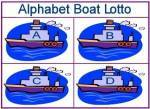 Alphabet Boat Lotto Game