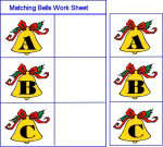 Matching Bells Work Sheet