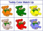 Teddy Bear Color Game