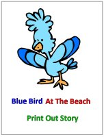 Printable Story – Blue Bird Story