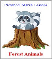 Preschool Curriculum Free Sample – Forest Animals Theme