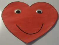 Big Happy Heart – Valentines Day Craft