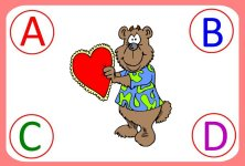 Valentine Letter Match UP - Circle Time Activity