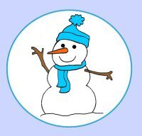 Snowman book pack with 30 activities