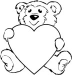 Valentine Theme Teddy Bear Craft – Send home to parents
