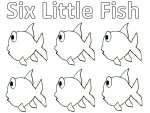 Fish Rhyme Printable Pages
