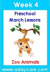March Preschool Curriculum Forest Animals St Patrick S